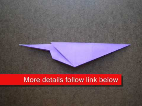 How to Fold Origami Pheasant - OrigamiInstruction.com