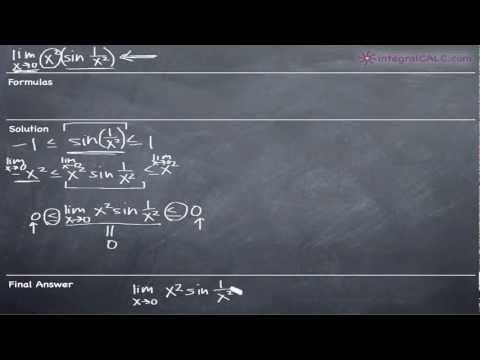 Squeeze Theorem Ex 4