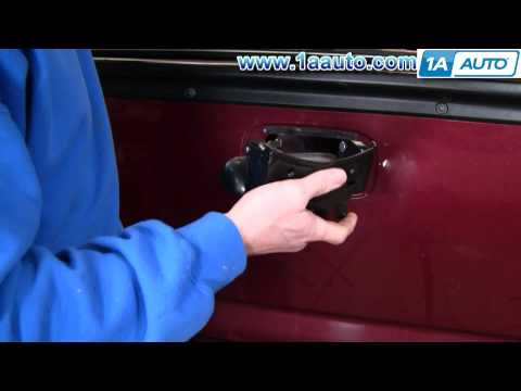 How To Install Replace Tailgate Handle Chevy Silverado GMC Sierra 99-07 1AAuto.com