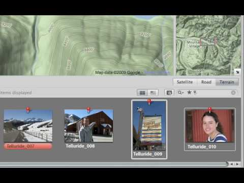 Aperture 3 Tutorials : 2.2 - Organizing - Organize Your Photos Using Places