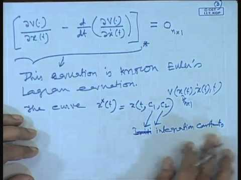Mod-01 Lec-31 Dynamic Optimization Problem: Basic Concepts and Necessary (cont.,)