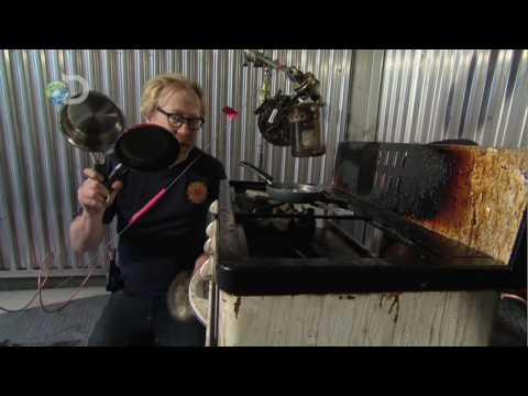 MythBusters - Greased Lightning  - Small Scale Fire