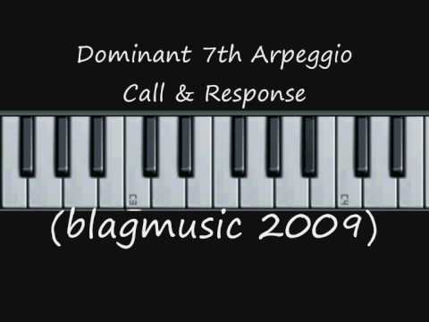 Dominant 7th Arpeggios - Vocal Warm Up Internalisation Excercise