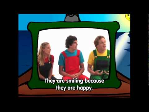 Basic English Emotions pt.5 - Kids Listen & Repeat Grammar Cartoon by Pumkin.com