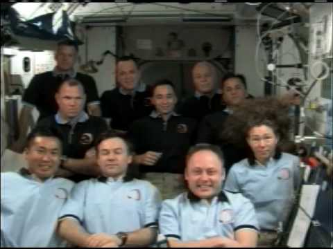 President Obama Speaks to Shuttle and Station Crew Members - Part 2