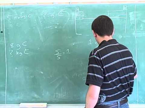 Stoichiometry. Atoms, molecules, moles (5)