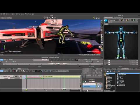 MotionBuilder 2012 New Features Part 2 - Retargeting & One Click