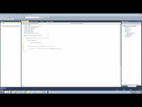 C# Beginners Tutorial - 133 - Making Controls pt 1