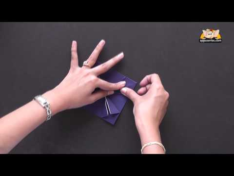 How to make a Table - Origami