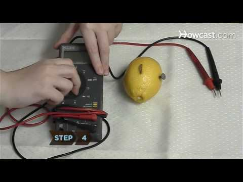 How To Power an LED With Lemons