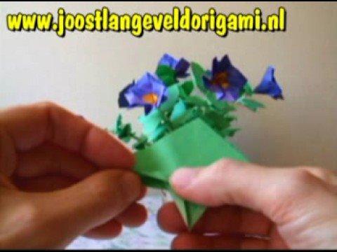 Origami Petunia