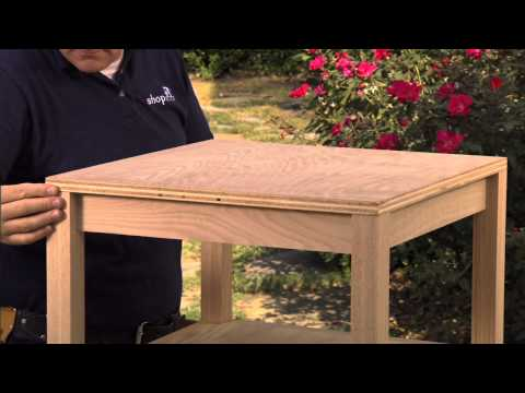 How to Build an Accent Table, Part 3: Table Top & Finish