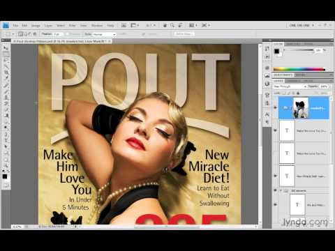 Photoshop Top 40 #38 - Vector Type