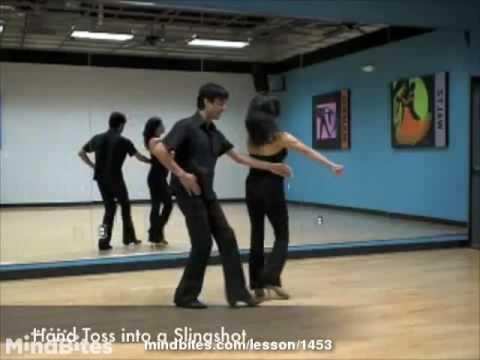 Salsa Partnerwork Technique: The Sling Shot