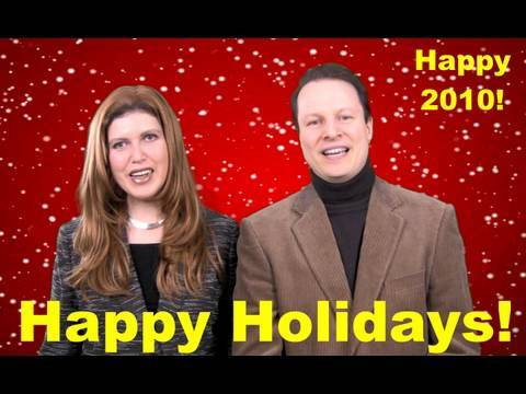 Learn English with Steve Ford-Holiday Greetings 2009-Funny Peppy Bloopers