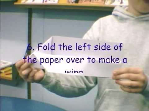 Make a Paper Aeroplanr