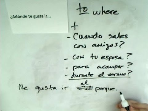 Asking and Answering Questions in Spanish, Part 12: Likes and Preferences