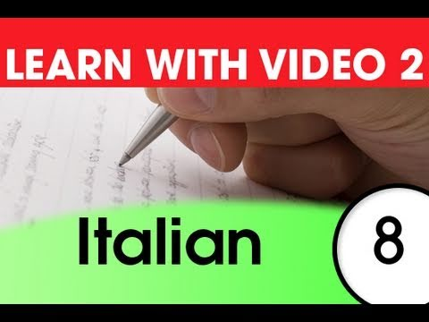Learn Italian with Video - Italian Expressions and Words for the Classroom 1