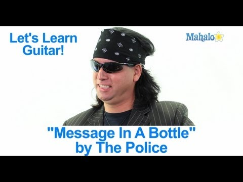 """Message In A Bottle"" by The Police Practice Cover on Guitar"