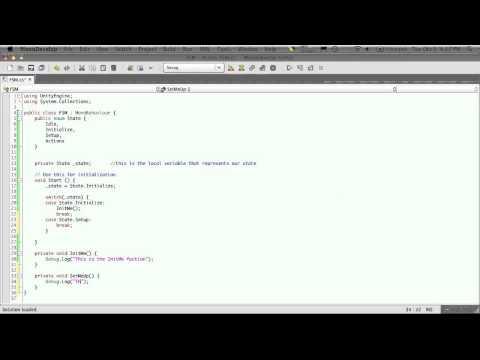 Finite State Machine Example - Part 1