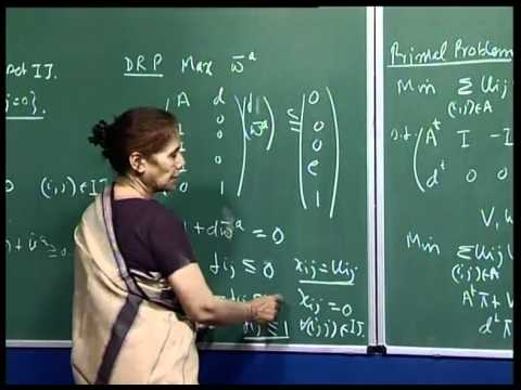 Mod-01 Lec-33 Min-cost flow changes in arc capacities , Max-flow problem, assignment 7