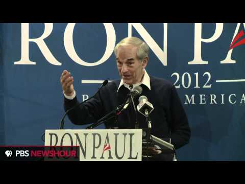 Big Crowd Cheers Ron Paul in Rock Hill, South Carolina