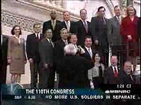 Sen Tom Daschle on Iraq & '08 Races on Hardball Pt 2