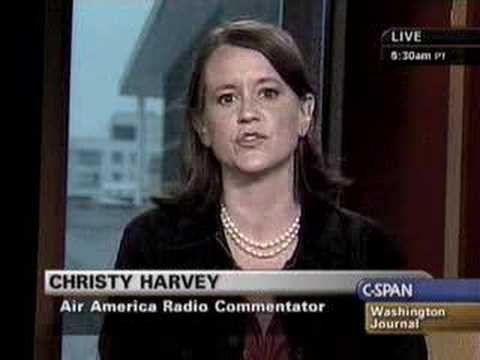 CAP's Christy Harvey on Elections on CSPAN Part 8