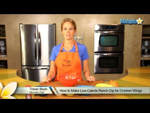 How to Make Low-Calorie Ranch Dip For Chicken Wings