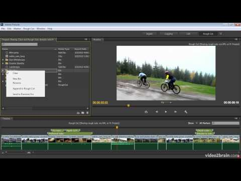 Sharing Clips and Rough Cuts Directly with Adobe Premiere Pro CS6
