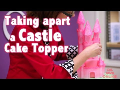 How to Make A Princess Castle Cake | Cake Tutorials