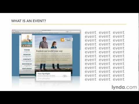 JavaScript tutorial: Working with events | lynda.com
