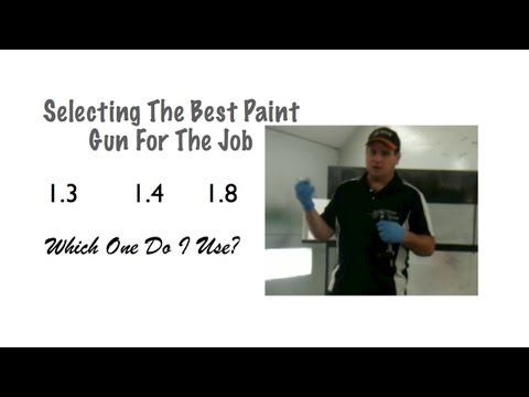 DIY Spray Gun Tips - Choosing The Right Spray Gun For The Job