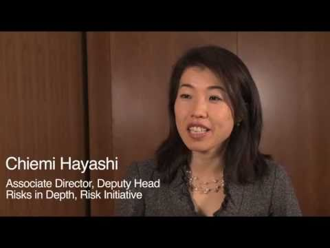 Global Risks 2011 - Interview with Chiemi Hayashi (Japanese)
