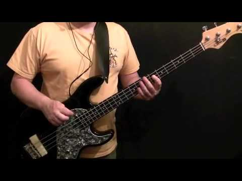How To Play Bass Guitar To Surfing USA - Beach Boys