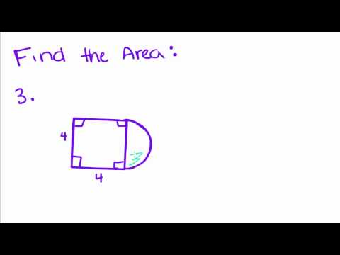 Introduction to Geometry - 56 - Area of a Circle