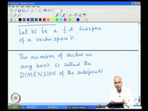 Mod-05 Lec-15 Basis Part 2