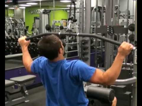 Lat Pull Down Wide Grip Back : BeYourTrainer.com