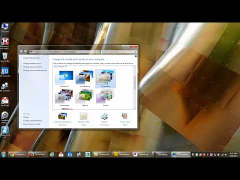 How To Customize the Windows 7 Look with Aero Themes
