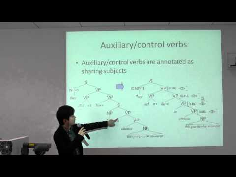 Development of Large-Scale Grammars Through Corpus Construction (Japanese Audio)