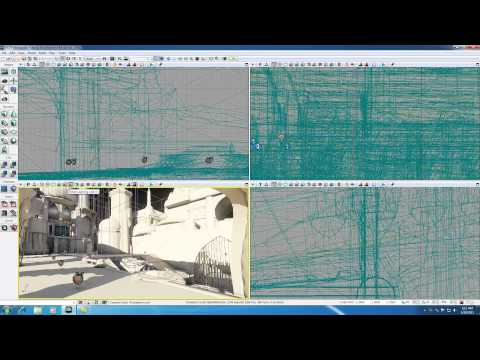 Unreal Development Kit UDK Tutorial - 5 - Different Viewing Modes