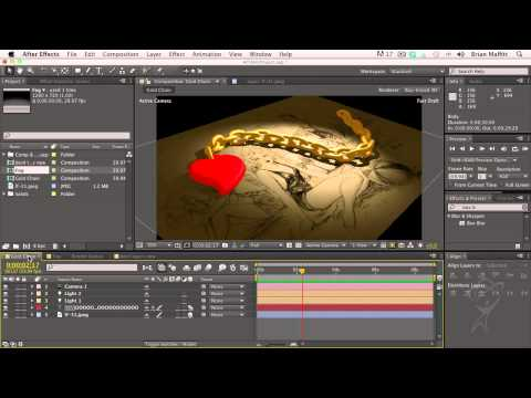After Effects CS6 Essentials - Layer Bounding Boxes and Selection Indicators