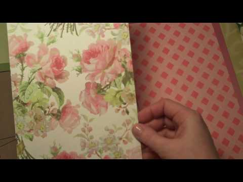 Shabby Chic Flip Envelope Mini Album Kit