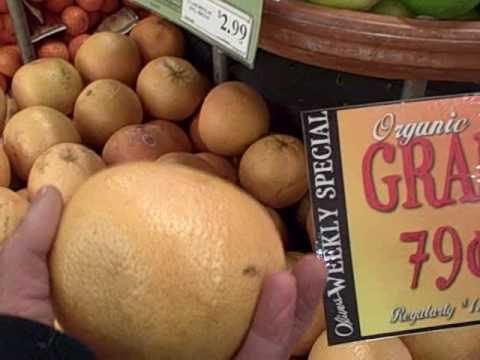 Shopping for Raw Foods - A Visit to a Health Food Supermarket