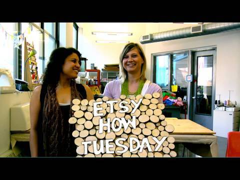 How-Tuesday: Wood Wall Hanging With Meg Allen Cole