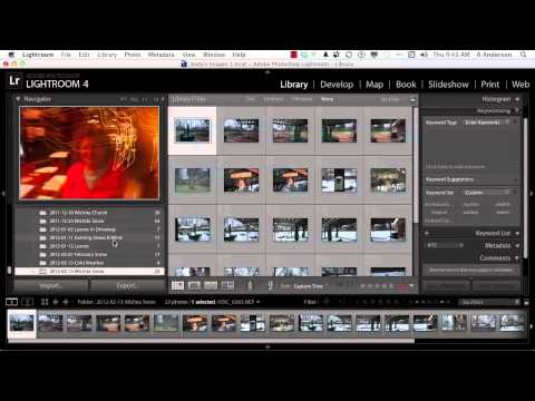 Adobe Photoshop Lightroom 4 Tutorial | Working with Basic Filters