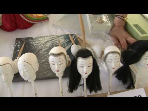 Kimekomi Doll Making at the Smithsonian Folklife Festival 2010