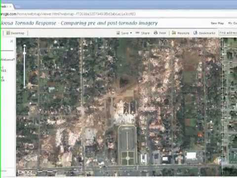 Examining the Tuscaloosa April 2011 Tornado in ArcGIS Online, Part 6