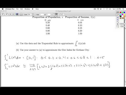 Applied Calculus Checkpoint Quiz 07 Part 1 of 3