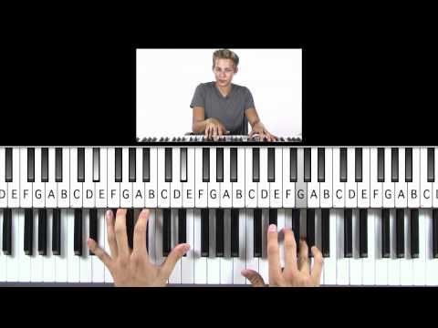 """How to Play """"Unchained Melody"""" from """"Ghost"""" on Piano"""